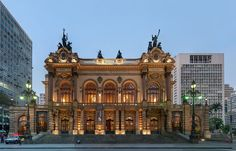 Teatro Municipal de São Paulo 8 - Arquitetura eclética – Wikipédia, a enciclopédia livre