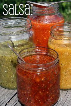 Salsa Recipe - Blender Version (girlichef)