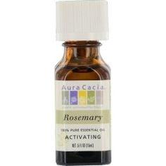 Aura Cacia - Rosemary Essential Oils  Available at ShopOilDiffusers.com