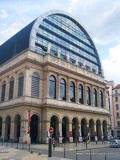Opéra de Lyon.  @NeoZarrivants -- http://www.neozarrivants.com/lyon/