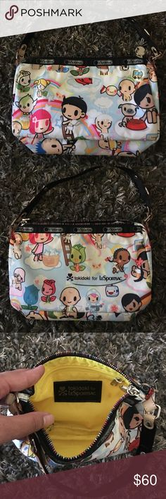 ⭐️SALE⭐️ IN EXCELLENT CONDITION TOKIDOKI LESPORTS USED In excellent used condition Tokidoki LeSportsac small bag tokidoki Bags Mini Bags
