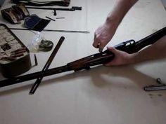 Dis assembly of mosin nagant rifle