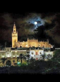 Cathedral of Seville, Spain Beautiful Places To Visit, Great Places, Places To Go, Places Around The World, Around The Worlds, Andalucia Spain, Seville Spain, Spain And Portugal, Kirchen