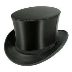 As seen on The Wendy Williams Show, this Satin Collapsible Opera Top Hat is a real show stopper. Fred Astaire wore this top hat in the movie aptly titled, Top Hat, where he utilized the hat's POP sound and motion when released from its compact position into his choreography.