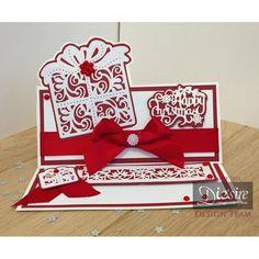 Die'sire Create a Card Cut In Die Christmas Gift