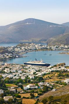 Patmos is home to the Grotto and Monastery of St. John and the medieval town of Chora. #Jetsetter