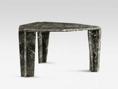 Z6 dark grey Marble Table for 6 persons @flf_design Berlin