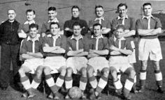 SOUTHEND UNITED FOOTBALL TEAM PHOTO 1949-50 SEASON