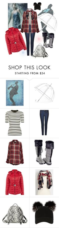 """Rain ☔️ ready"" by zzhys ❤ liked on Polyvore featuring NOVICA, Totes, Theory, HUGO, Velvet by Graham & Spencer, Forever, Armani Exchange, maurices, Steve Madden and Charlotte Simone"
