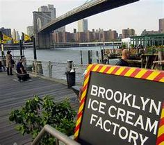Brooklyn Ice Cream Factory - Been There, Done That - Best Ice Cream Ever!!!