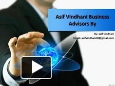 asif vindhani would be a way to deal with build and lead a gathering to find the…