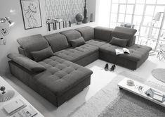 Corner Sofa Design, Sofa Bed Design, Couches For Sale, Sofa Sale, U Couch, Sofa U Form, Laminate Flooring Colors, Living Room Entertainment Center, Sofa Bed Size