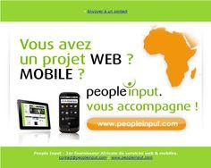 newsletter de l'agence web et services mobile People Input septembre 2010