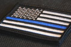 $4.99 - Tactical Police Law Enforcement Thin Blue Line United States Flag Patch #ebay #Collectibles