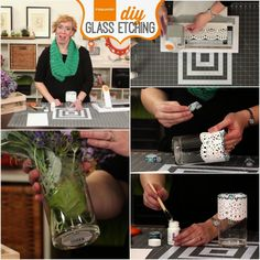June 16th: Fiskars DIY Glass Etching, Teresa Collins Punch it Out, 4th of July by Authentique