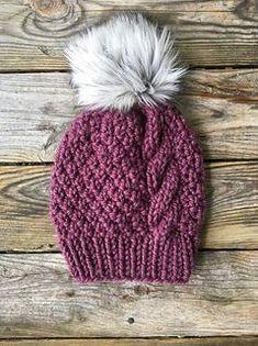 3b7a95e91c5 A KittysKnittyCreation original pattern. Knit Beanie Pattern