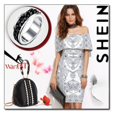 """SheIn 9 / XV"" by selmamehic ❤ liked on Polyvore featuring vintage"
