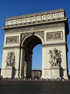 The Arc de Triomphe Paris, built between 1806 and 1836. and located at the centre of the Place Charles de Gaulle, it commemorates who fought for France, in particular, those who fought during the Napoleonic Wars. Photo by Brian Kaylor.