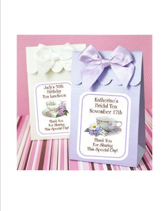 Tea Party Tea Cups Bridal Shower Birthday by lovelypapercreations