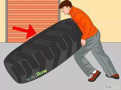 Immagine titolata Make a Homemade Weight Set Step 13-Trova dei vecchi pneumatici