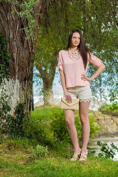 Πουκάμισα Λινή Ροζ, YourLook Dresses, Fashion, Vestidos, Moda, Fashion Styles, The Dress, Fasion, Dress, Gowns