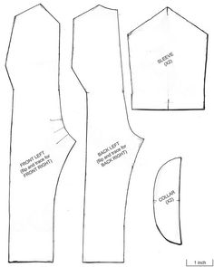 G.I. Joe Jumpsuit Pattern Final by skipthefrogman, via Flickr