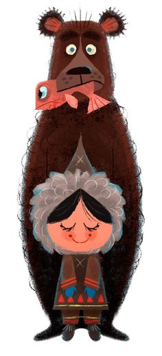 Chris Sasaki illustration