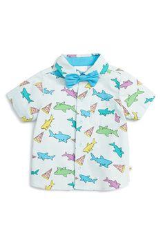 Pizza Shark Shirt (Baby Boys)