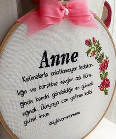 Wedding Embroidery, Cute Embroidery, Embroidery Stitches, Embroidery Patterns, Medicine Notes, Funny Cross Stitch Patterns, Quran Quotes Love, Cute Patterns Wallpaper, Mom Day