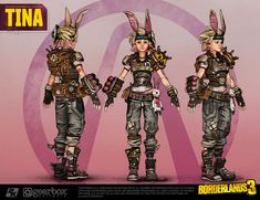 Cosplay Makeup Tutorial, Tiny Tina, Video Game Characters, Borderlands, Video Games, Comic Books, Comics, Cosplay Ideas, Movie Posters