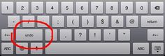iPad Typing Tip: Find & Use the Undo and Redo Keys. Written by Andy Brovey from iPad Academy.