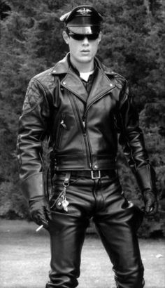 Leatherman... the gay Leathermen wear it like they mean it.