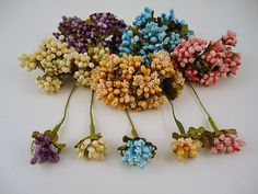 Flowers Bouquet 72 pcs. by lallehandmade on Etsy