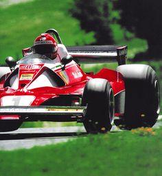 Niki Lauda, Ferrari 312 T2 1976