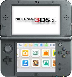 New Nintendo 3DS XL portable game console