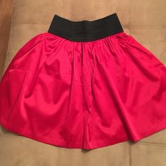 Red skirt Perfect holiday skirt Body Central Skirts Circle & Skater
