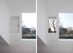 Why not have ventilation and picture window separate Especially of you want to cut out aircraft noise Loft Conversion Extension, Attic Conversion, Loft Conversions, Extension Plans, Window Detail, Dormer Windows, Loft Interiors, Loft Design, Loft Spaces