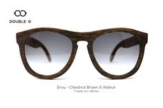 Envy - Chestnut Brown & Walnut / Handmade Wooden Sunglasses / Made in Crete,Greece Wooden Sunglasses, 7 Deadly Sins, Crete Greece, Handmade Wooden, Envy, Brown, Shopping, Collection, Fashion