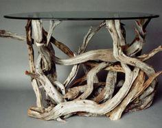 Driftwood Coffee Table. Style 1. Handmade by CustomDriftwoodArt