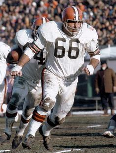 Gene Hickerson Cleveland Browns 1958-73. Inducted 2007