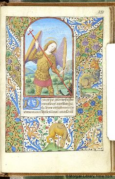 Book of Hours, MS M.348 fol. 251r - Images from Medieval and Renaissance Manuscripts - The Morgan Library & Museum