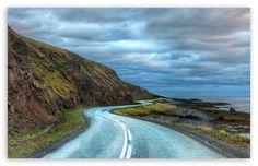 Road Around Iceland wallpaper