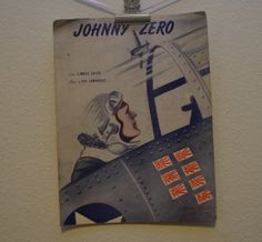 Vintage 1943 Johnny Zero Music and Song by FloridaFindersPaper, $7.50