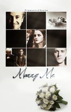 Read Marry Me (Dramione) [#wattys2015] #wattpad #fanfiction This is an AMAZING Dramione fanfic. GO READ IT