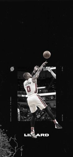 Portland Trailblazers Damian Lillard Step Back Jumper Wallpaper Neymar, Cristiano Ronaldo, Celebrity Travel, Celebrity News, Mvp Basketball, Basketball Design, Basketball Quotes, Kim Kardashian Taylor Swift, Basketball