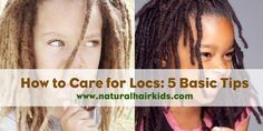 How to care for your child's locs | Natural hair kids For more articles and pictures like this, check out our blog: www.naturalhairkids.com Natural hair | hair care | natural hair care | kids hair | kids hair care | kid hairstyles | inspiration | locs