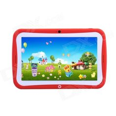 "TEMPO MS709 7"" Android 4.2 RK3026 Dual-Core Children's Tablet PC w/ 512MB, 8GB, Wi-Fi - Orange Price: $72.18"