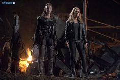 "#The100 2x13 ""Resurrection"" - Lexa and Clarke"