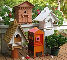 Recycling Salvaged Wood For Birdhouses, 25 Recycled Crafts And Backyard  Ideas