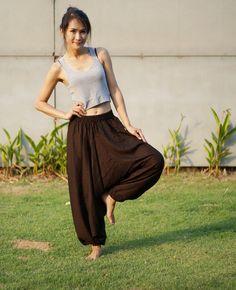 Harems Hose Thai Hosen Hosen Rayon Boho Strenchy Hosen von MaeYing